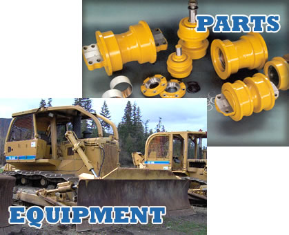 Construction, Logging and Agricultural Heavy Duty Equipment Parts